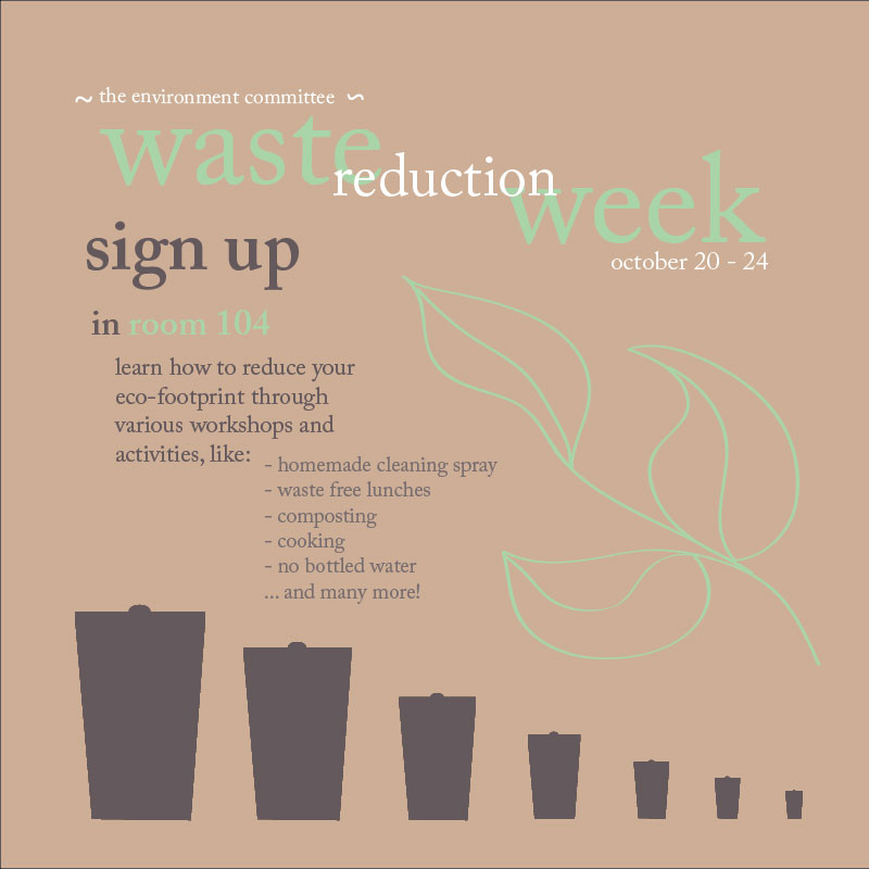 poster waste reduction week