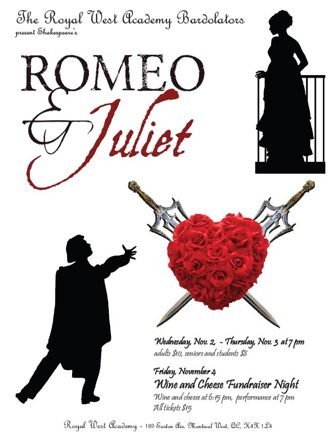 "RWA Bardolators Present Shakespeare's ""Romeo & Juliet"""