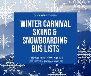 Ski & Snowboard Bus Lists