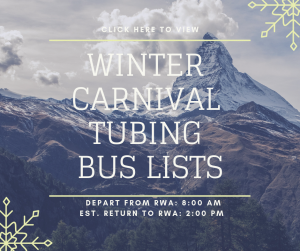 Tubing Bus Lists