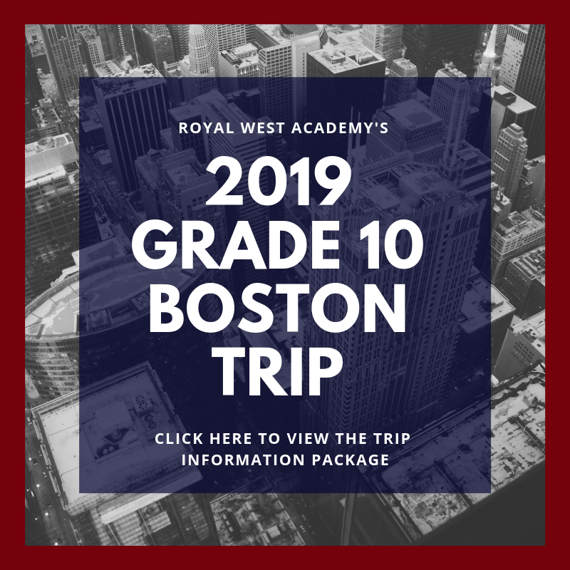 RWA Boston Trip